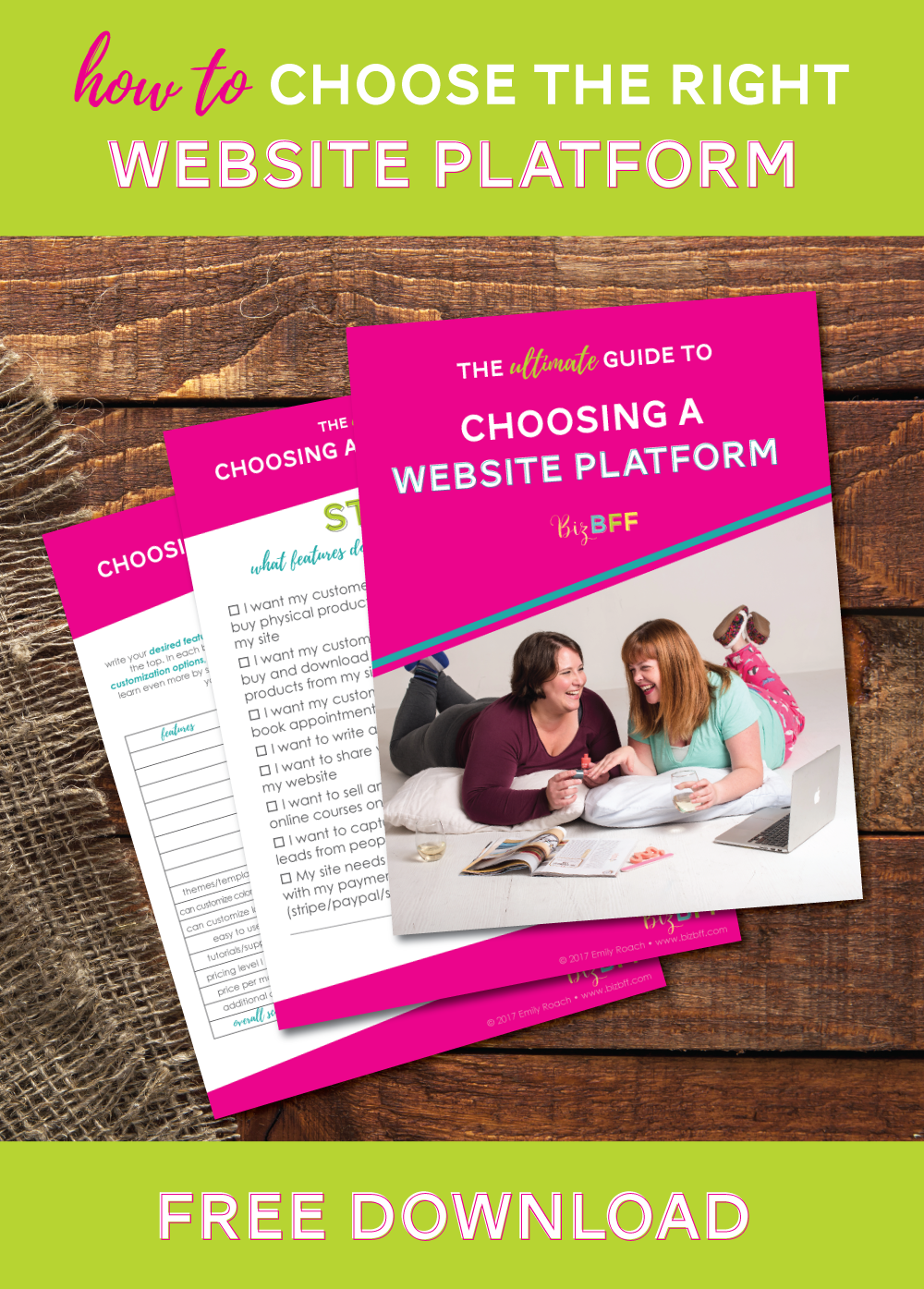 the ultimate guide to choosing a website platform