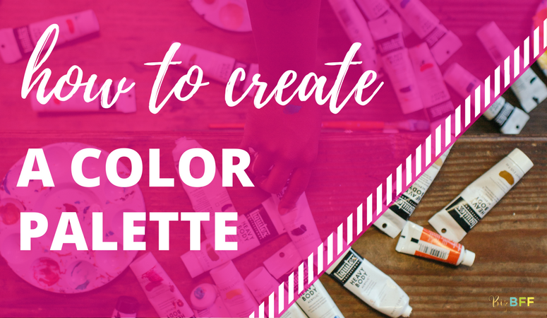 How to create a color palette by biz bff