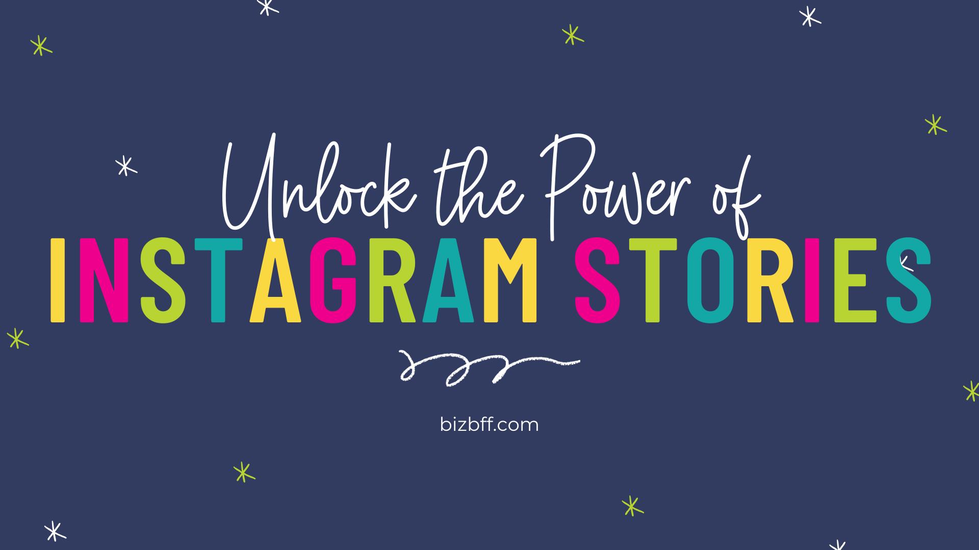 Instagram Story Workshop by Biz BFF