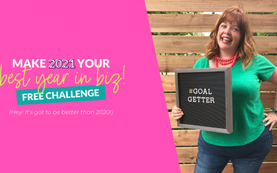 Your Best Year in Biz Challenge